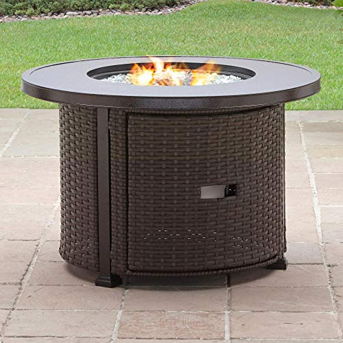 636643 Better Homes & Gardens Colebrook 37-Inch Gas Fire Pit