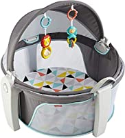 Fisher-Price On-the-Go Baby Dome, Grey/Blue/Yellow/White