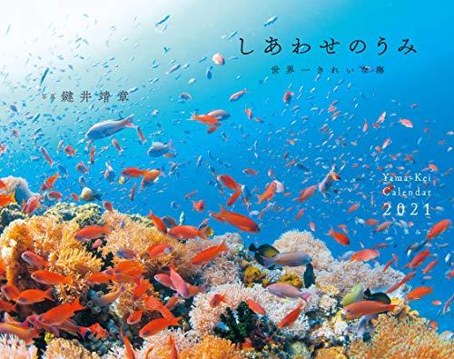 カレンダー2021 しあわせのうみ (月めくり・壁掛け) (ヤマケイカレンダー2021)の詳細を見る