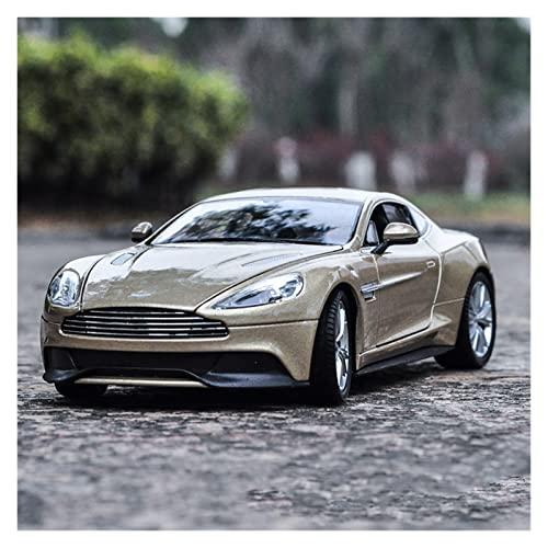 PCTHMLL Modellini Auto Modelli di Auto 1:24 Collezione Regalo Back Force Pressofusa per Aston per Martin V12 Modellini Auto Epoca ( Color : 3 )