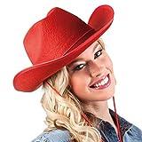 Boland - Feltro Cowboy Cappello Rosso...