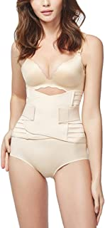 Zhhlaixing Breathable 女性のシェイパーの美しさ Trimmer Belt Postpartum Postnatal Support Girdle After Birth Special Belly Tummy Fat Burning