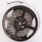 Tira de luces LED de 12 V 5 m, 300 ledes SMD 3528 cinta de diodos RGB y colores únicos, cinta de LED, luces flexibles para decoración del hogar (color emisor: RGB)
