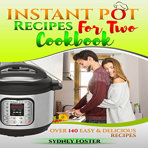 Instant Pot for Two Cookbook audiobook cover art