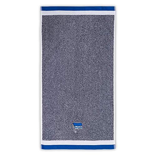 Hertha BSC Duschtuch blau Melange