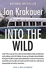 Into the Wild book (Books about travel and self discovery)