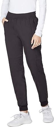 Adar Responsive Scrubs for Women - Quilted Jogger Scrub Pants