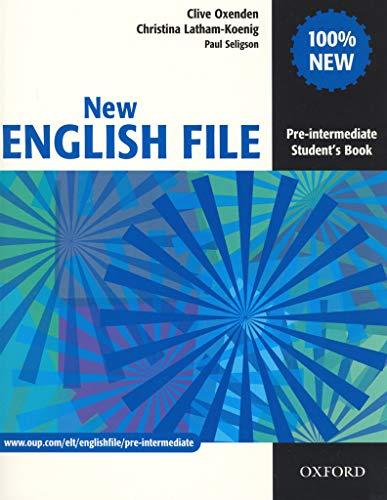 New english file. Pre-Intermediate. Student's book. Per le Scuole superiori: Six-level general English course for adults