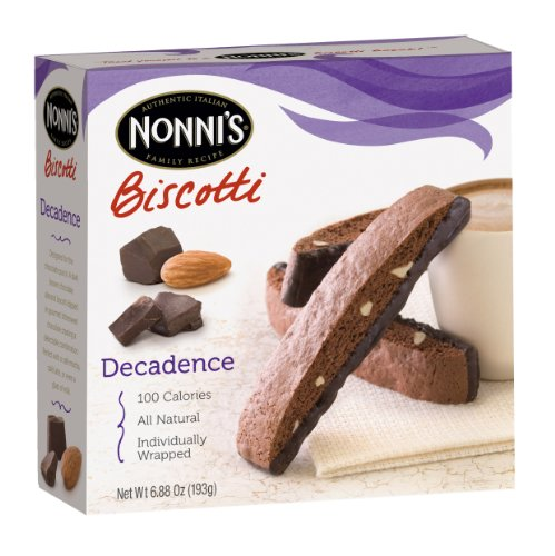 Nonni's Biscotti, Decadence, 8-Count Boxes (Pack of 12)