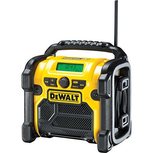 Elite Choice DeWalt DCR020 XR Compact DAB Site Workshop Radio 18v / 240v (1) - Min 3yr Warranty