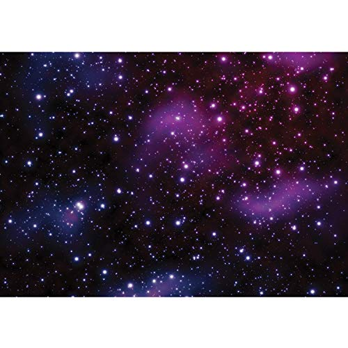 Fototapete Wand Foto Tapete Bild Vliestapete selbstklebende Textiltapete - Galaxy Sterne Weltraum - no. 499, Größe:200x140cm Vlies