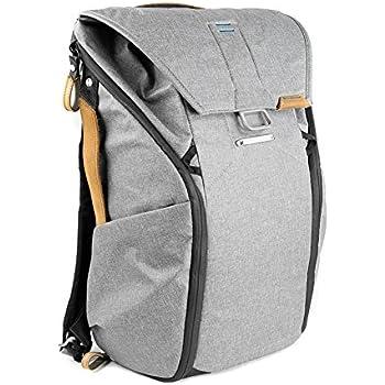 Peak Design Everyday Backpack 30L Ash Foto-Rucksack - z.B. für DSLR- und DSLM-Kameras (hellgrau)