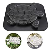 Baomabao Turtle Butterfly Paving Mould, Stepping Stone Mold Concrete Cement Mould ABS Tortoise Butterfly Path Adds Sense of Fun and Art (Turtle)