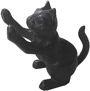 Comfy Hour Cast Iron Door Stopper - Cat