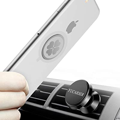 Magnetic Car Phone Mount with USB Sorting Funct...