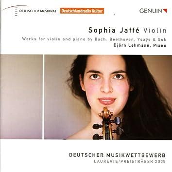 Violin Recital: Sophia Jaffe