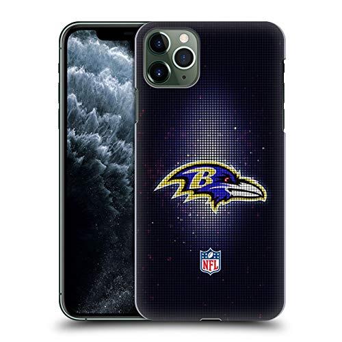 Head Case Designs Offiziell Zugelassen NFL LED Baltimore Ravens Artwork Harte Rueckseiten Handyhülle Hülle Huelle kompatibel mit Apple iPhone 11 Pro Max