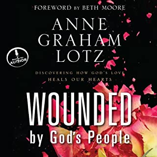 Wounded by God's People audiobook cover art