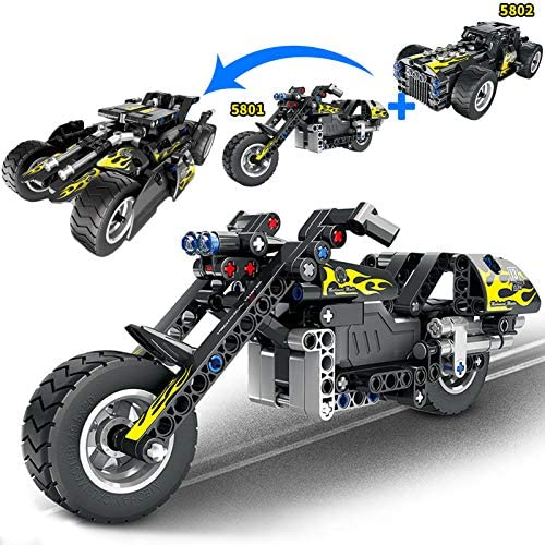 STEM Building Toys Kit, Snap Together Pull Back Car for Kids, Off-Road for 6, 7,8 and 9+Year Old Boys and Girls(177pcs)