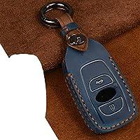 LSJVFK 車のキーケースカバー、スバルレガシィXVフォレスターアウトバックスバルBRZキーカバーキーレスプロテクトフォブリングに適合
