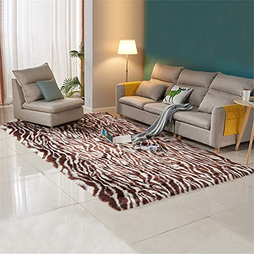 European-Style Non-Slip And Moisture-Proof Plush Carpet, Microfiber Simple Striped Lattice Printing Mat, Skin-Friendly And Soft, Used For Living Room Bedroom Sofa Bedside Hotel Kindergarten Floor Mat