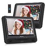 Pumpkin Lecteur DVD Portable Double ecran Voiture 9 Pouce supporte USB SD MMC...