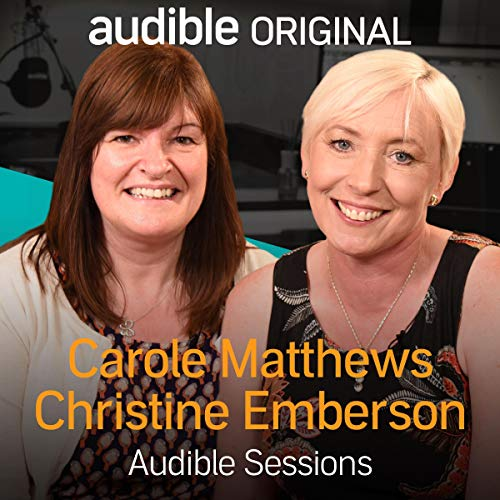 Carole Matthews and Christine Emberson audiobook cover art