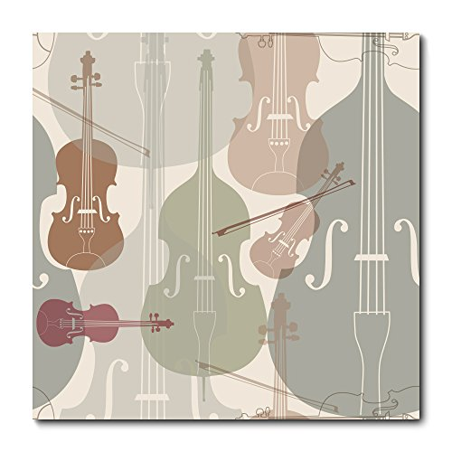 Placa Decorativa - Instrumentos Musicais - 2117plmk