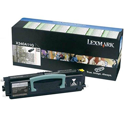 LEXMARK X340, X342n Toner schwarz Standardkapazität 2.500 Seiten 1er-Pack Rückgabe