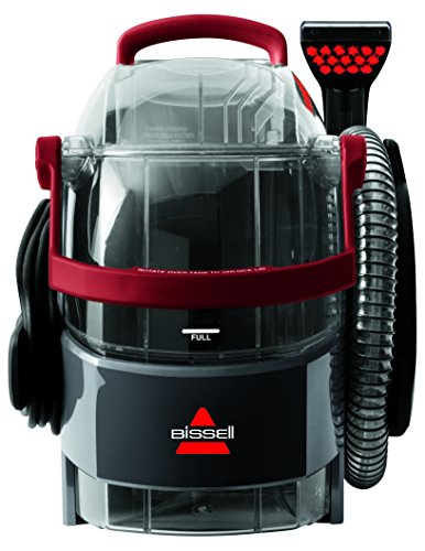 BISSELL ProHeat 2X Lift-Off Carpet Washer, 1000 W, Titanium/Red
