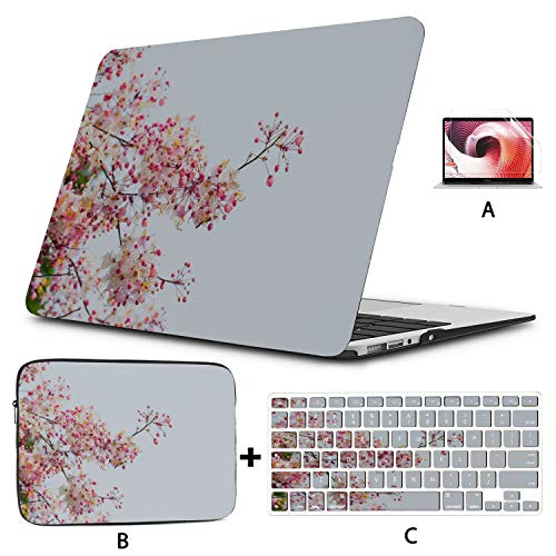 A1707 Macbook Pro Case Blossom Cherry Tree Branches A1706 Macbook Pro Case Hard Shell Mac Air 11'/13' Pro 13'/15'/16' With Notebook Sleeve Bag For Macbook 2008-2020 Version