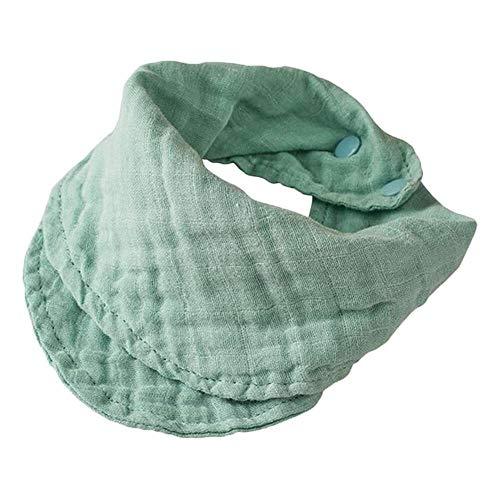 Yuyanshop Babero de algodón para bebé recién nacido alimentación saliva toalla bandana eructos paño niño regalos