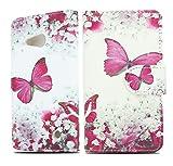 NWNK13 Lumia 535 Case Designer Book Wallet Side Open card