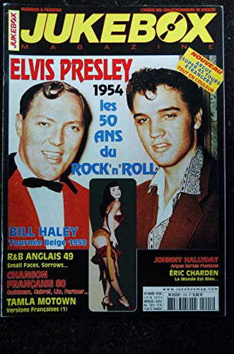 JUKEBOX 205 * 2004 * ELVIS PRESLEY BILL HALEY ERIC CHARDEN
