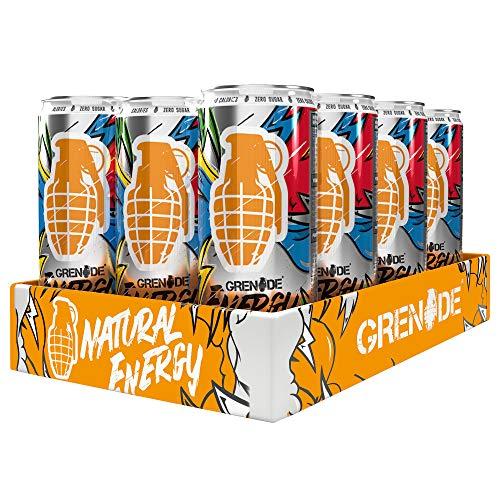 Grenade Energy - Functional Energy Drink - 330 ml (Pack of 12)