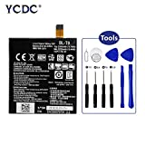 YCDC 2Pcs BL-T9 3.8V 2220mAh Battery for LG E980 Nexus 5 D821 D820 with Repair Tool Kit