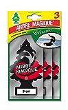 Table 102710 Désodorisant Auto Arbre Magique Tris Sport