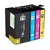 IC4CL75 エプソン互換インクカートリッジ EPSON互換 IC75シリーズ 4色セット ベンチャートナー