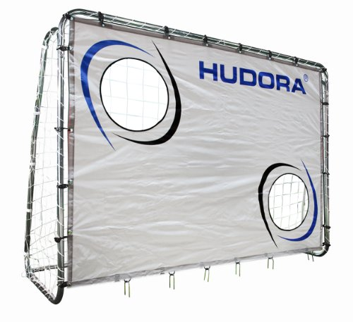 Hudora 76920 Porta da Calcio con Rete per Allenamento, 213 x 152 x 76 cm [Importato da Francia]