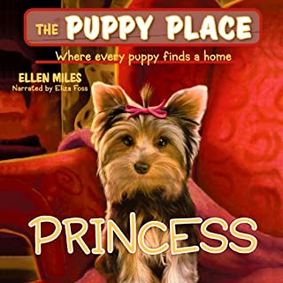 Puppy Place #12: Princess audiobook cover art