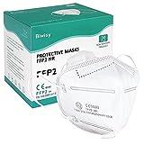 Biwisy FFP2 / KN95 30 PEZZI respiratore maschera antipolvere maschera respiratore maschere di sicurezza respiratore usa e getta certificate