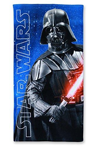 Disney Serviette de plage Star Wars, 70 x 140 cm, Coton, 820-990, 70 x 140 cm