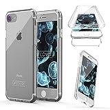 "Urcover Touch Case 2.0 kompatibel mit Apple iPhone 7 Hülle ""Unbreakable Case bekannt aus Galileo I 360 Grad Rundum-Schutz Cover I Crystal Clear Full Body Cover I Schale Handy-Hülle Transparent"