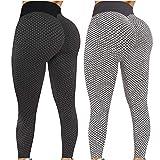 2 Pack TIK Tok Butt Lift Leggings for Women,