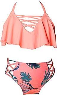 a1cb99737083 Amazon.es: bikinis niña - Naranja