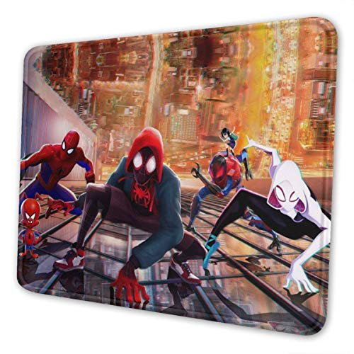 Spider Hero Man Mouse Pads,Non Slip Rubber Mouse Mat with Stitched Edge 7 x 8.7 in Standard Size Mousepad for Computer Desktops Office