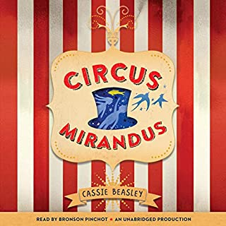 Circus Mirandus audiobook cover art