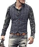 Solove-Suit - Chaleco de traje para hombre marine M