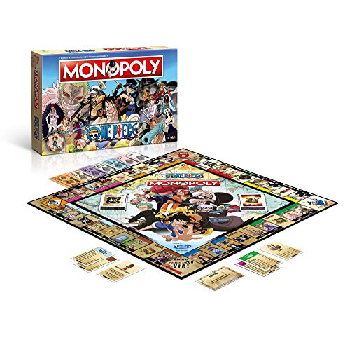 Winning Moves- Monopoly One Piece Edizione Italiana