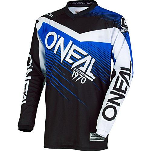 O'Neal Element Maillot de motocross, 2018 Element Racewear, bleu/noir, moyen